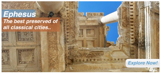 Ephesus: The best preserved of all classical cities..