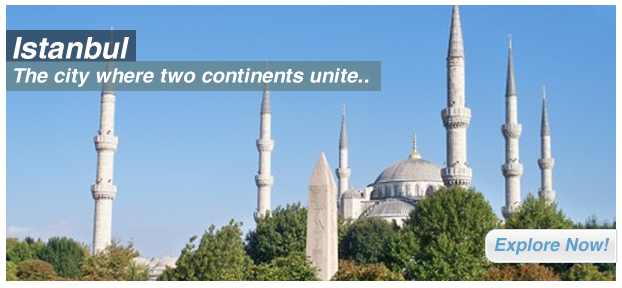İstanbul: The city where two continents unite..