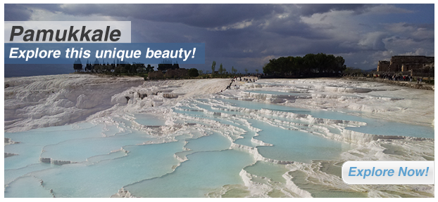 Pamukkale: Explore this unique beauty!